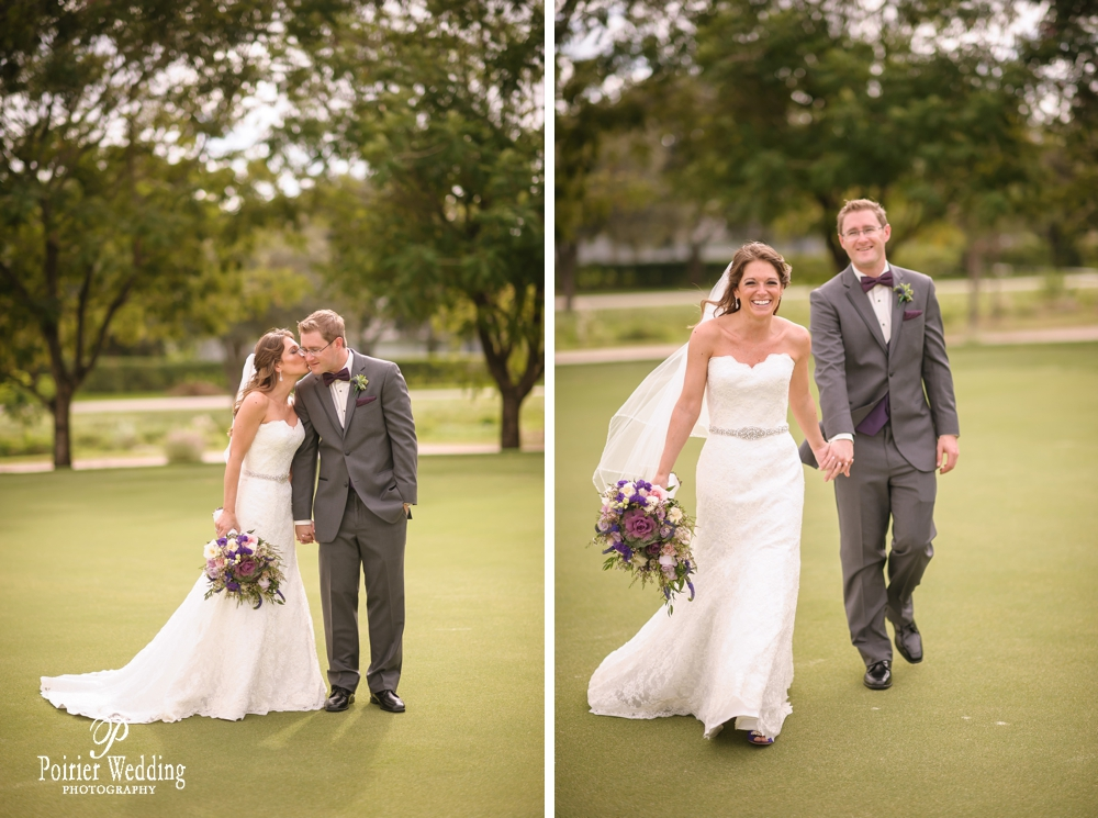 Bride and groom portraits at the Wanderers Club