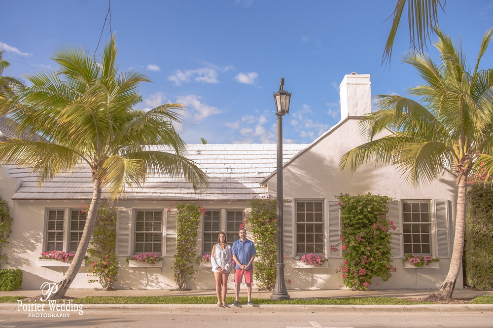 Engagement photo shoot in Palm Beach