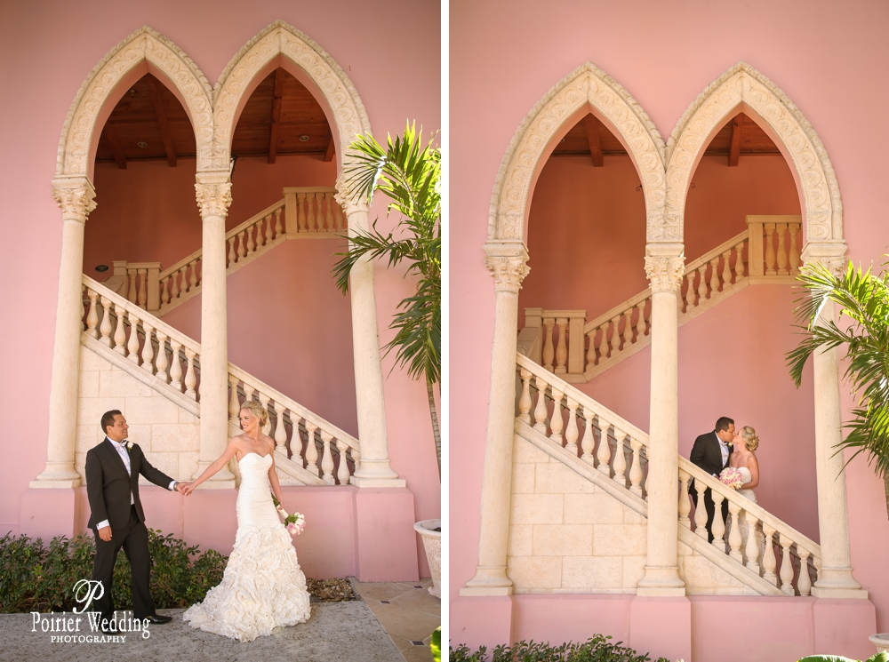 Bride and Groom portraits at the Boca Raton Resort